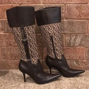 Guess karah-t boots brown size 7